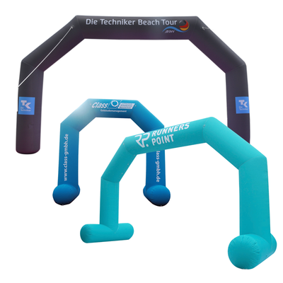 Inflatable Archway – XhibArch (double layer, airtight): fully printed in your color and design  - Inflatable24.com
