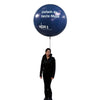 Promoballoon Full Set with ball shape balloon / Lighting - Inflatable24.com