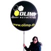 Promoballoon Full Set with tire shape balloon / Lighting - Inflatable24.com