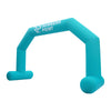 Inflatable Archway – XhibArch double layer airtight with logo L (8 x 5) / Directly on arch / With Feet - Inflatable24.com