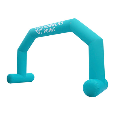 Inflatable Archway – XhibArch (double layer, airtight): fully printed in your color and design L (8 x 5) / Directly on arch / With Feet - Inflatable24.com