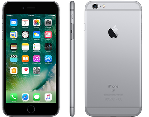 Apple iPhone 6s plus + negro black gris espacial 16 64 a la venta en Panamá