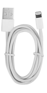Cable lighting cargador iPhone iPad Airpods