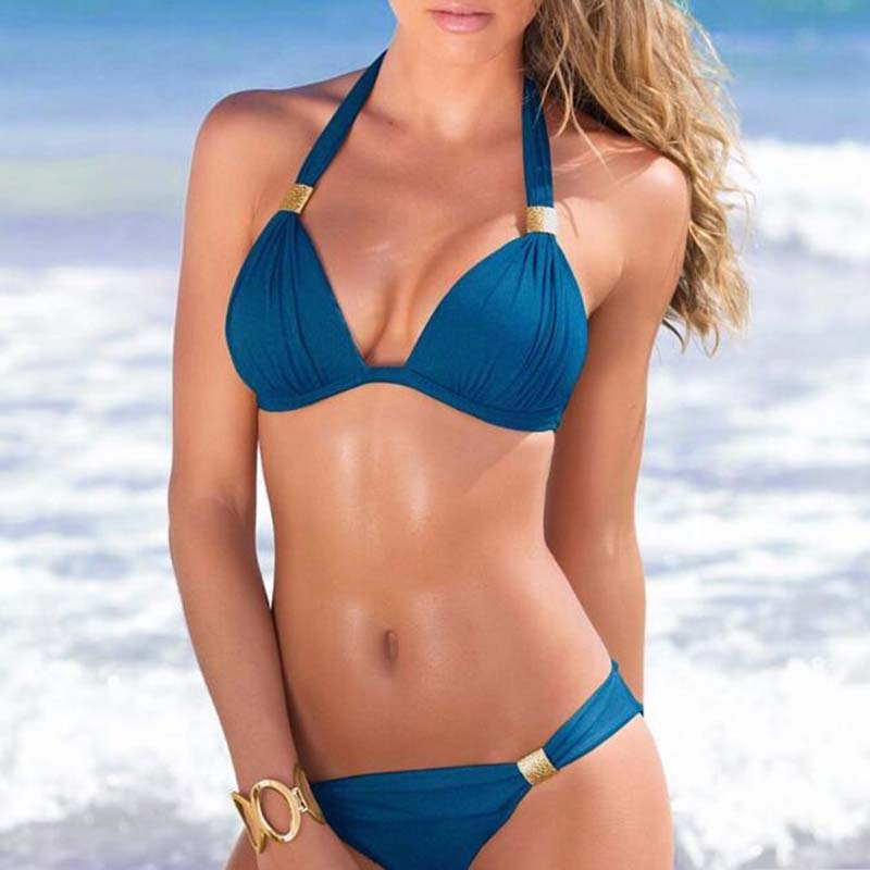 Sexy Push Up Beach Bikini w/Plus Size