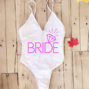 BRIDE Sexy One Piece w/ Brazilian Thong