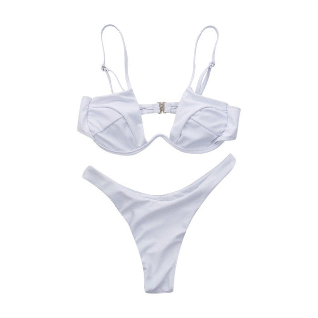 Fashion Ladies Push Up Bikini Set