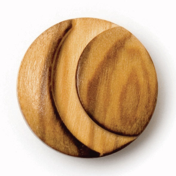 Button - Wooden with Shank