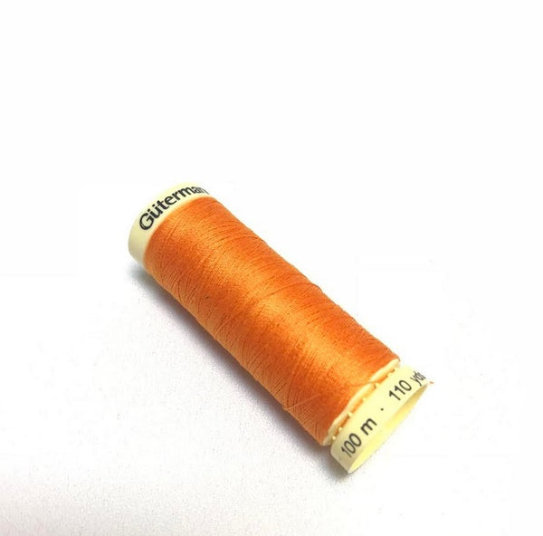Gutermann Sew All Thread - Tangerine (350)