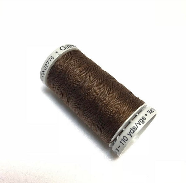 Gutermann Extra Strong Thread - Brown (406)