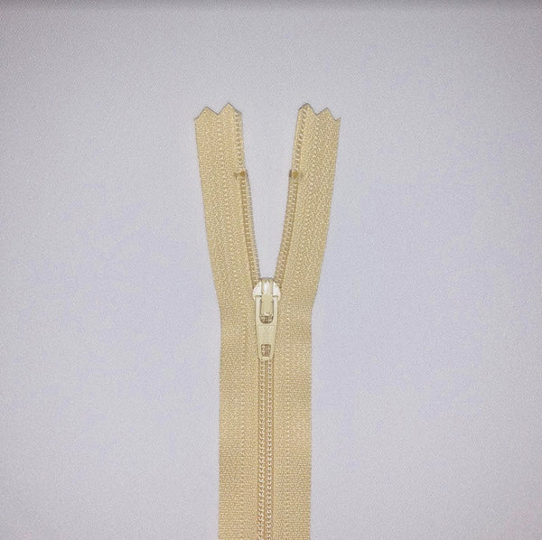 YKK Dress Zip - Beige