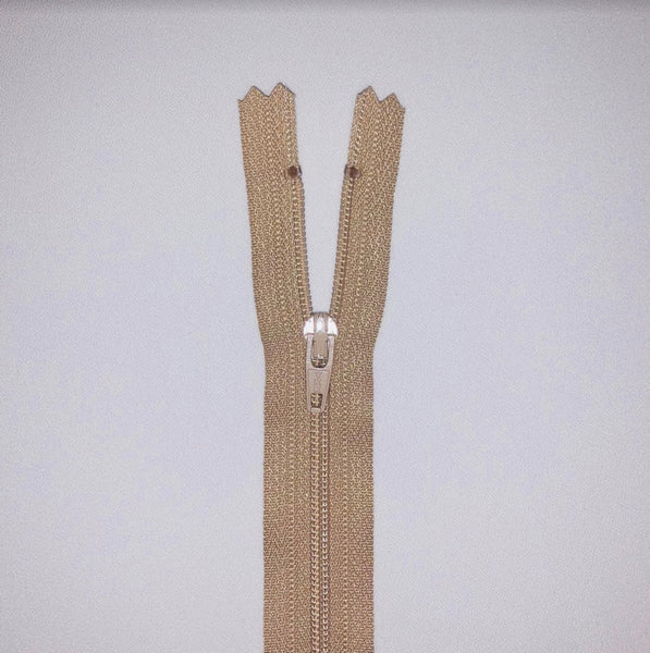 YKK Dress Zip - Taupe