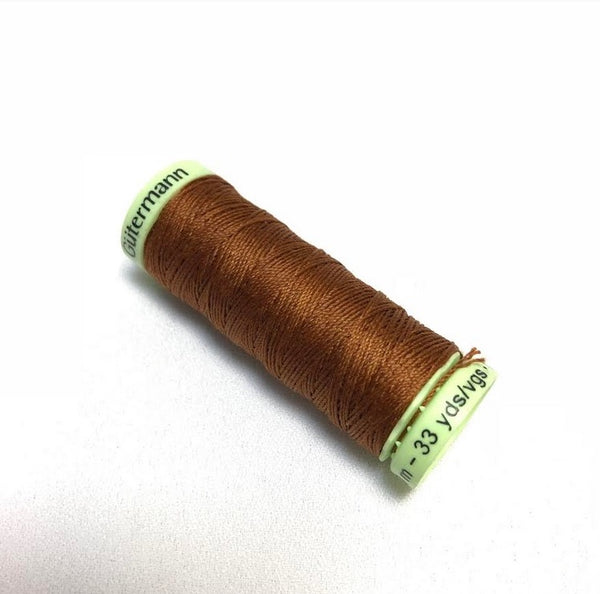 Gutermann Top Stitch Thread - Terracotta (650)