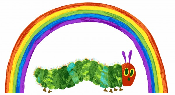 The Very Hungry Caterpillar Rainbow Panel (9597L)