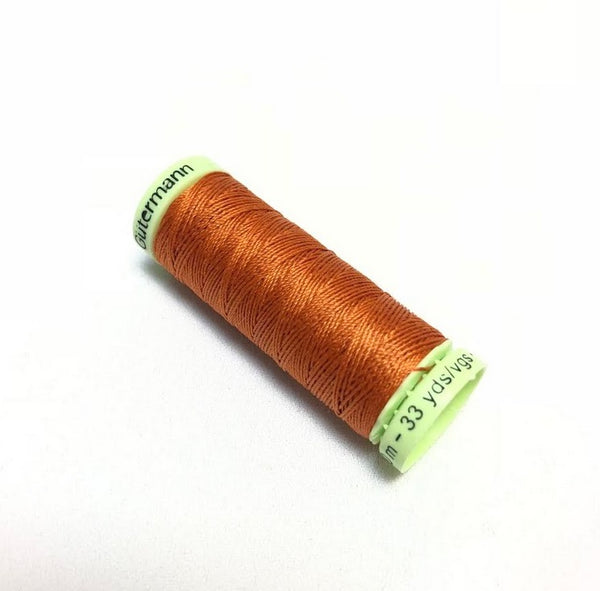 Gutermann Top Stitch Thread - Burnt Orange (982)