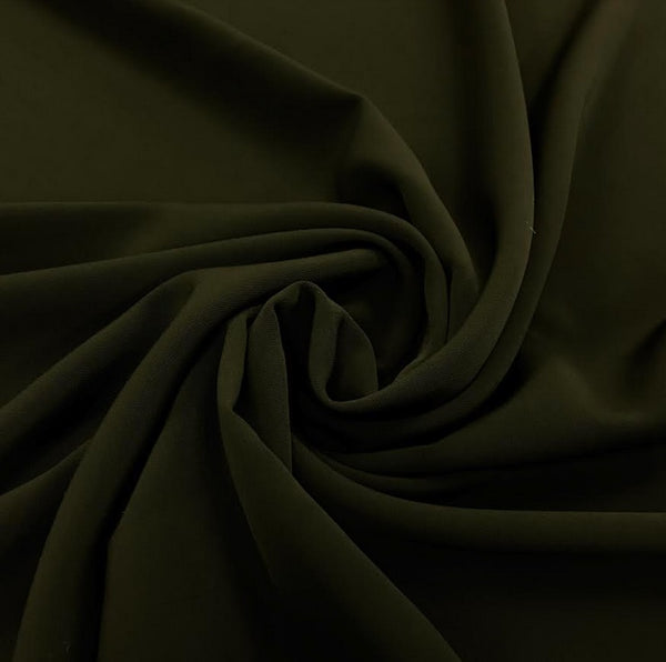 Luxury Crepe - Dark Olive