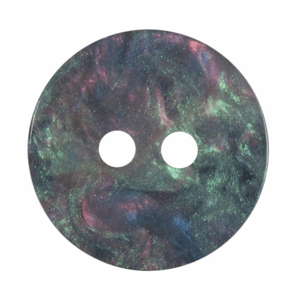 2 Hole Button - Galaxy Shimmer