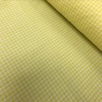 "1/8"" Gingham - Lemon"