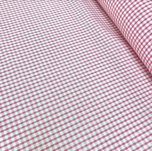 "1/8"" Gingham - Pink"