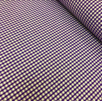 "1/8"" Gingham - Purple"