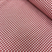"1/8"" Gingham - Red"