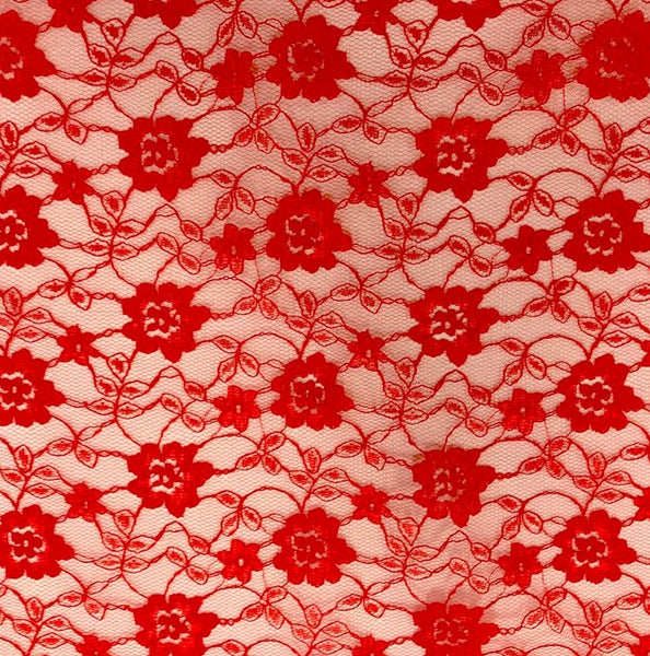 Budget Lace - Red