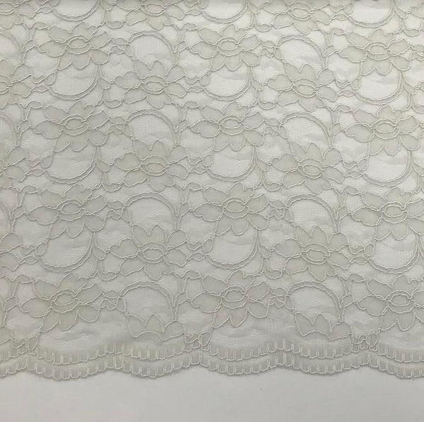 Corded Lace - Silver