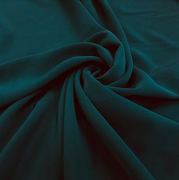 Luxury Crepe - Teal
