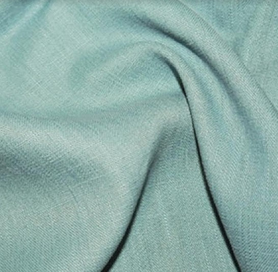 Enzyme Washed Linen - Aqua