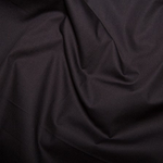 100% Cotton Poplin - Black