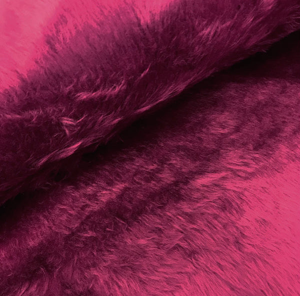 Fun Fur - Burgundy