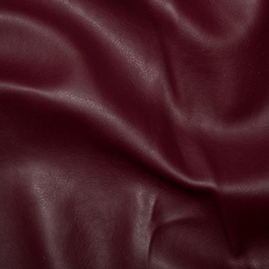 Leatherette - Burgundy