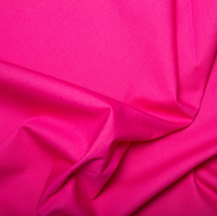 100% Cotton Poplin - Cerise