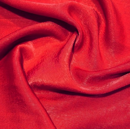 Polyester Sand Washed Silk Touch - Claret