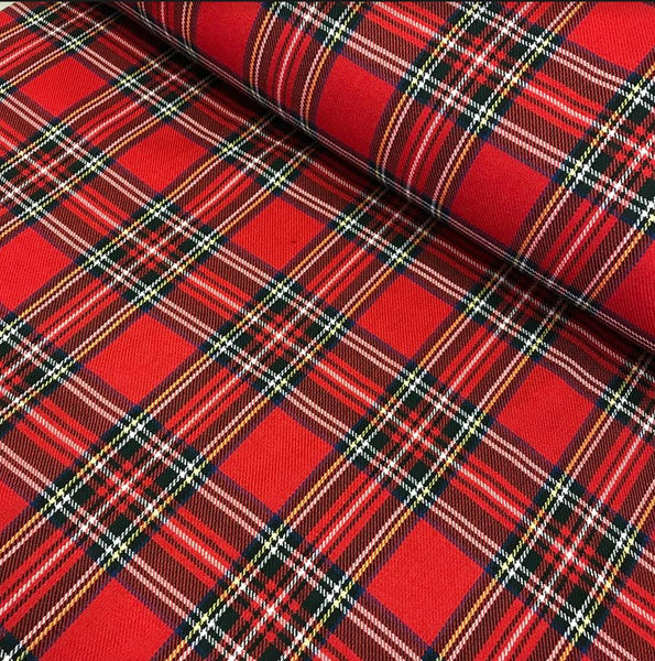 Poly Viscose Tartan - Colour 19