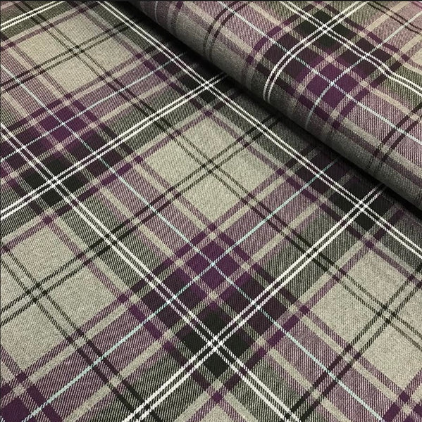 Poly Viscose Tartan - Colour 51