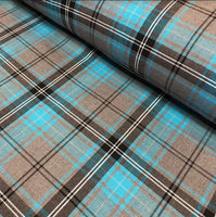 Poly Viscose Tartan - Colour 53
