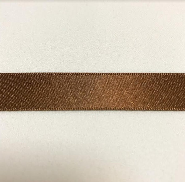 Satin Ribbon - Dark Brown