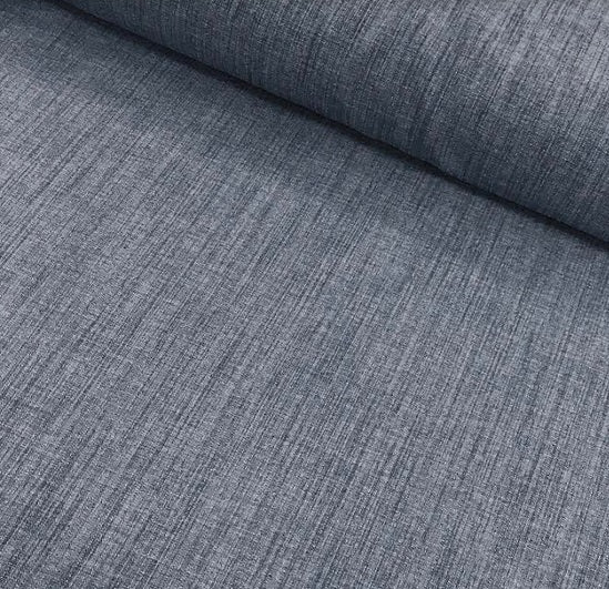 Polyester Linen Look - Denim