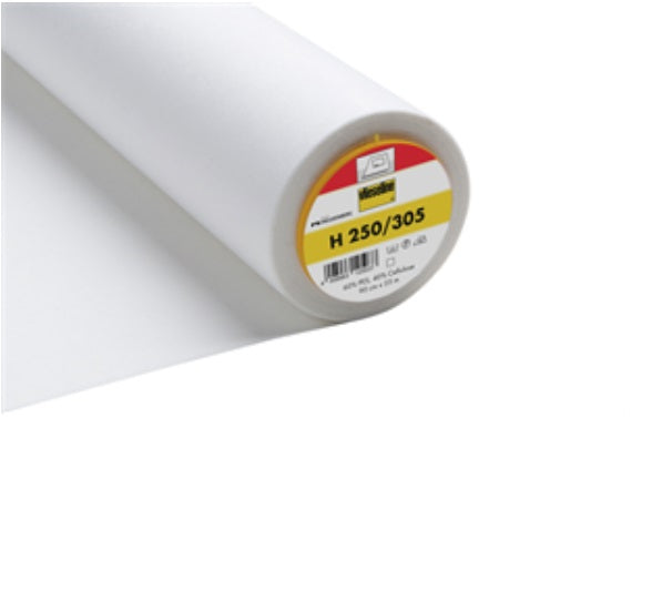 Firm Standard Iron On Interfacing - White (2V305)