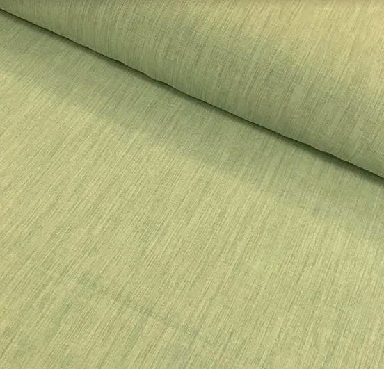 Polyester Linen Look - Green
