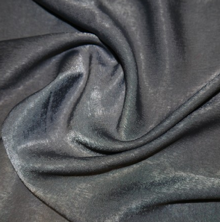 Polyester Sand Washed Silk Touch - Grey