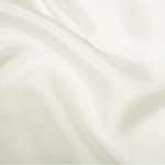 100% Silk Habotai - White