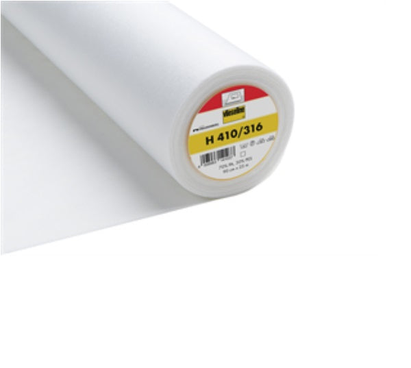Heavy Ultrasoft Iron On Interfacing - White (2V316)