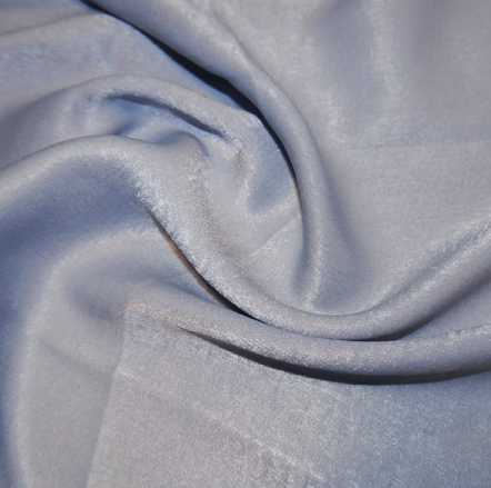 Polyester Sand Washed Silk Touch - Ice Blue