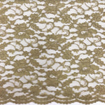 Double Scallop Lace - Khaki