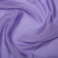 100% Polyester Cationic Chiffon - Lavender
