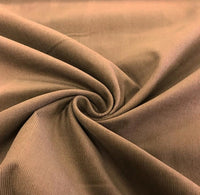 100% Cotton Needlecord - Light Brown