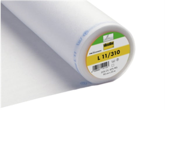 Light Standard Sew In Interfacing - White (2V310)