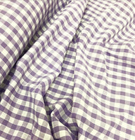 "1/4"" Gingham - Lilac"