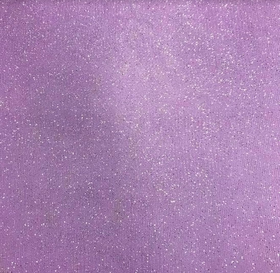 Glitter Tulle - Lilac